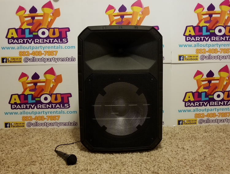 Be your own DJ PA speaker!