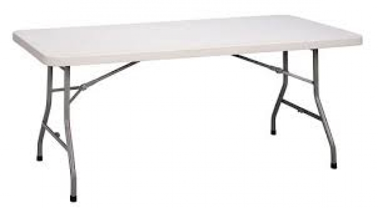 6Ft Adult Rectangle Table