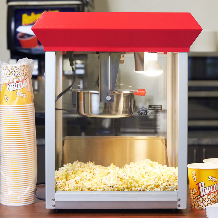8oz Popcorn Machine